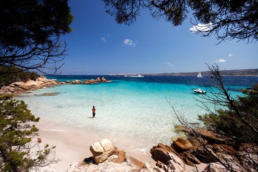 Stock Photo: 4261-65914 Cala Conneri, Isola Spargi, archipelago della Maddalena, La Maddalena,  Olbia Tempio,  Gallura,  Sardinia, Italy, Europe