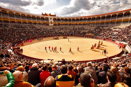 Stock Photo: 4261-66228 Bullfighting, La Venta, Madrid, Spain, Europe