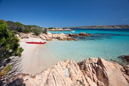Stock Photo: 4261-66352 Cala Granara, Isola di Spargi island, La Maddalena (OT), Sardinia, Italy, Europe