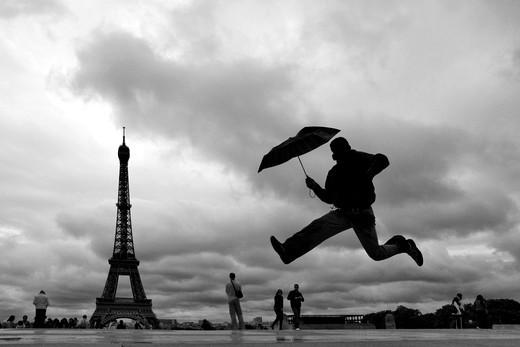 Tour Eiffel, Trocadero, Paris, France, Europe : Stock Photo