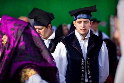 Stock Photo: 4261-66608 Sant'Efisio traditional event, the most important religious feast in Sardinia, Cagliari (CA), Sardinia, Italy, Europe