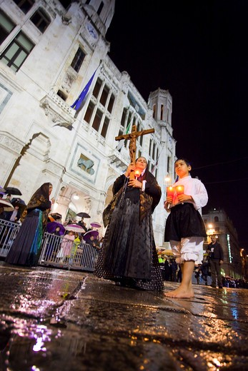 Stock Photo: 4261-66644 Sant'Efisio traditional event, the most important religious feast in Sardinia, Cagliari (CA), Sardinia, Italy, Europe