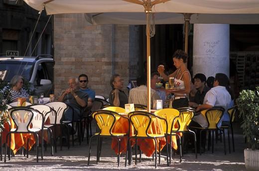 Stock Photo: 4261-67134 Piazza della Repubblica, Urbino, Marche, Italy