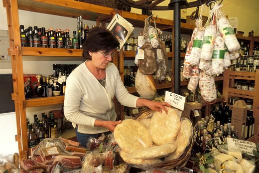 Stock Photo: 4261-68341 Imola Solfanelli, Enotria wine shop, Cortona, Tuscany, Italy