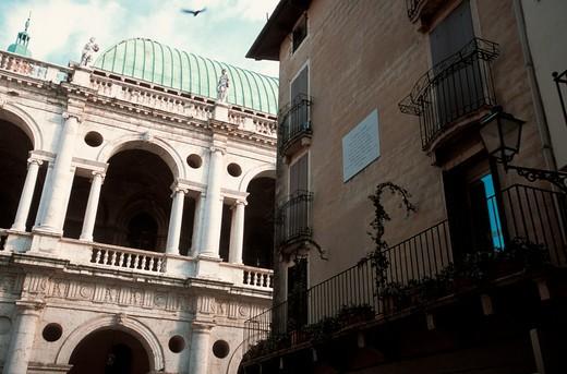 Basilica Palladiana, Vicenza, Veneto, Italy : Stock Photo