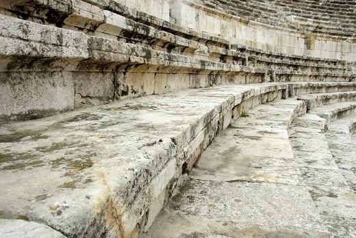 Stock Photo: 4261-6889 Roman theatre, Amman, Jordan, Middle East