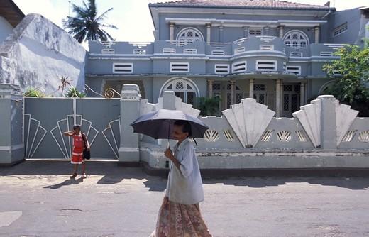 Stock Photo: 4261-68968 Colonial architecture, Galle, Sri Lanka, Asia