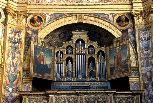 Stock Photo: 4261-69084 Altar, Incoronata church, Lodi, Lombardy, Italy