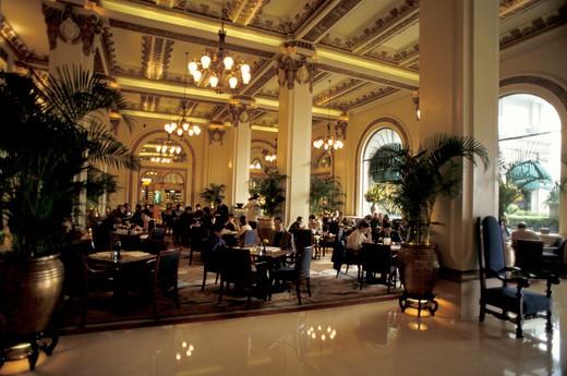 Peninsula hotel, Kowloon, Hong Kong, China, Asia : Stock Photo