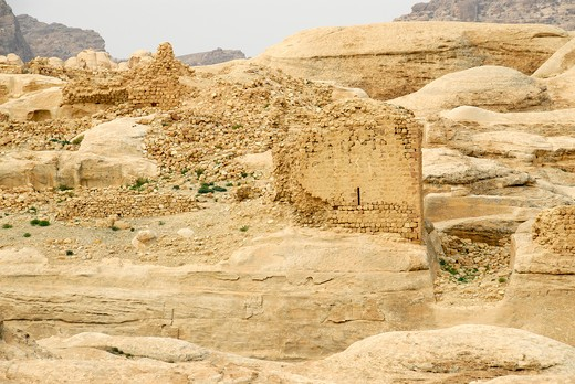 Crusader castle, Jordan, Middle East : Stock Photo