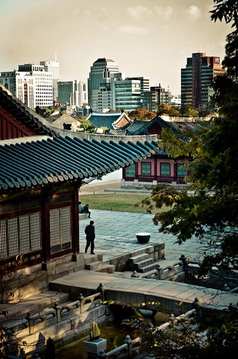 Changgyeonggung Palace, Seoul, South Korea, Asia : Stock Photo