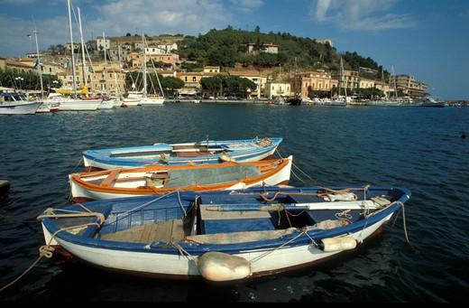Porto Azzurro, Elba, Tuscany, Italy : Stock Photo