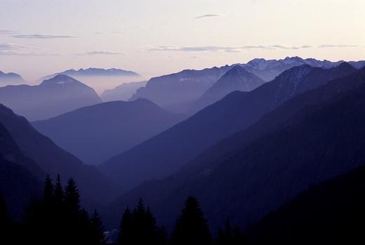 Landscape, Alto Adige, Italy : Stock Photo