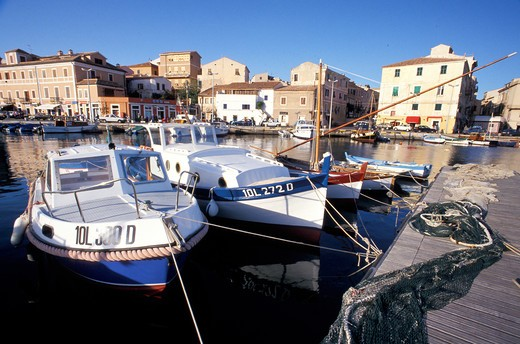 Harbour, La Maddalena, Sardinia, Italy : Stock Photo