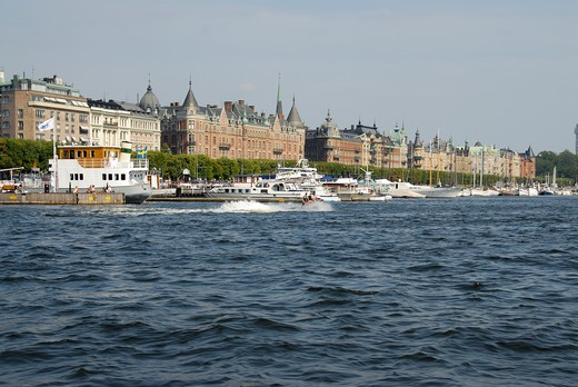 Cityscape, Stockholm, Sweden, Scandinavia, Europe : Stock Photo