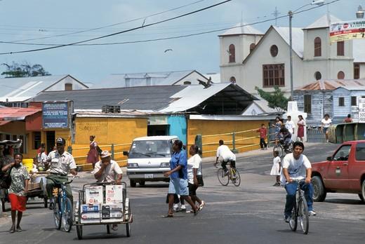 Stock Photo: 4261-72473 Centre, Belize City, Belize, Central America