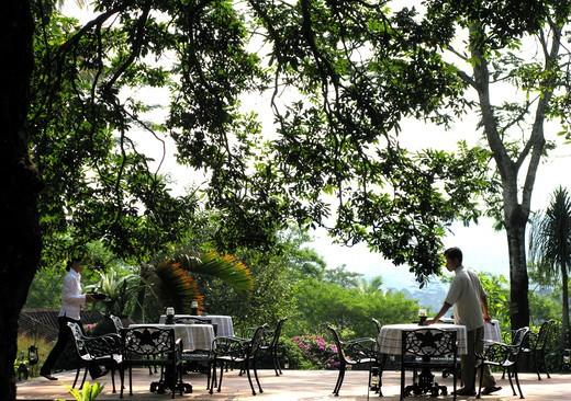 Club House, Losari Coffee Plantation Resort & Spa, Magelang, Java island, Indonesia : Stock Photo