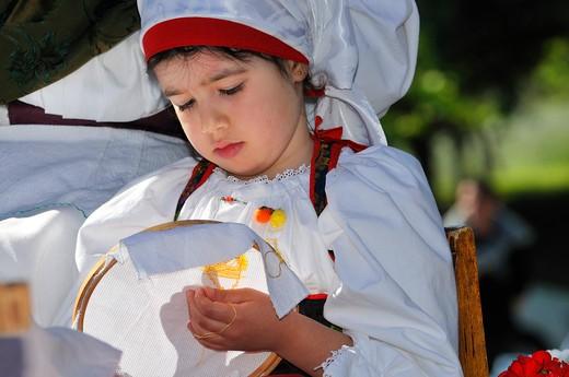Stock Photo: 4261-73923 Sagra degli agrumi feast, Muravera, Sardinia, Italy, Europe