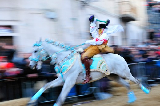 Stock Photo: 4261-73935 Componidori, Sartiglia feast, Oristano, Sardinia, Italy, Europe