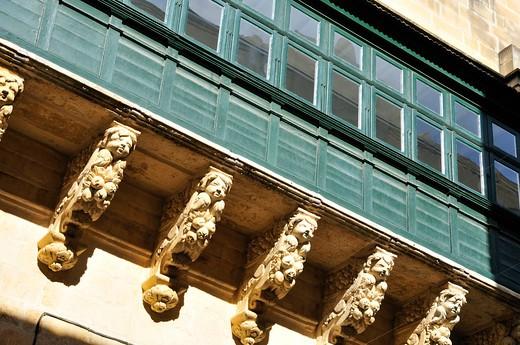 Grand Masters palace, Valletta, Malta, Europe : Stock Photo