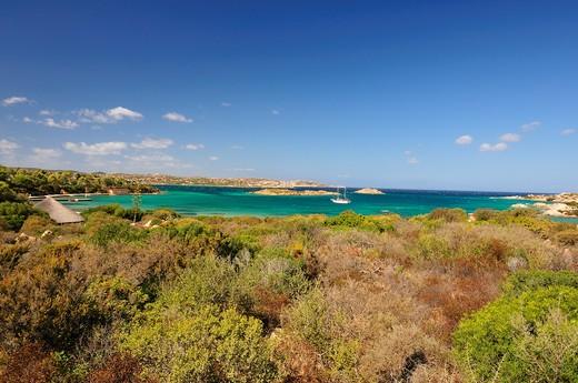 Stock Photo: 4261-74240 Landscape, Caprera island, La Maddalena, Sardinia, Italy, Europe