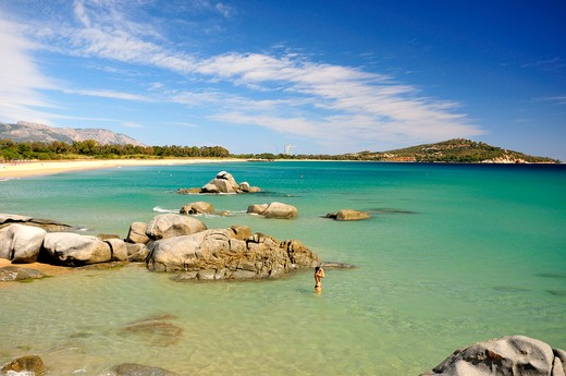 Stock Photo: 4261-74249 Orrì beach, Tortolì, Sardinia, Italy, Europe