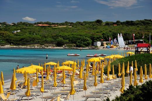 La Pelosa beach, Stintino, Sardinia, Italy, Europe : Stock Photo