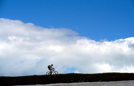 Stock Photo: 4261-74947 Bicycle, Trentino Alto Adige, Italy