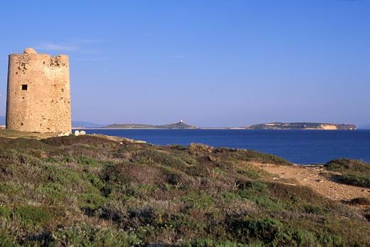 Torre di Seu, Sinis, Sardinia, Italy : Stock Photo
