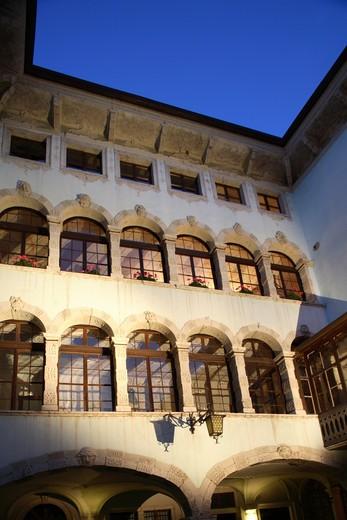 Stock Photo: 4261-75949 Ala Città di Velluto 2007 feast, Palazzo Angelini, Ala, Trentino Alto Adige, Italy