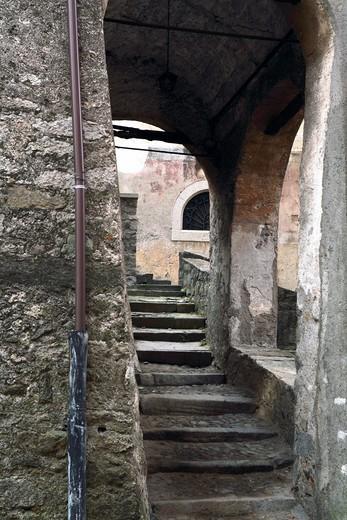 Stock Photo: 4261-75956 Foreshortening, Bagolino, Lombardy, Italy