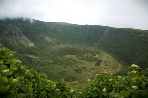 Caldeira do Fajal, Fajal, Azores Island, Portugal, Europe : Stock Photo