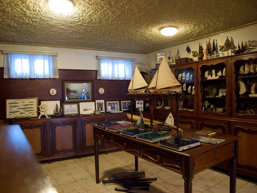 Scrimshaw museum by Peter cafe` sport, Horta, Fajal, Azores Island, Portugal, Europe : Stock Photo