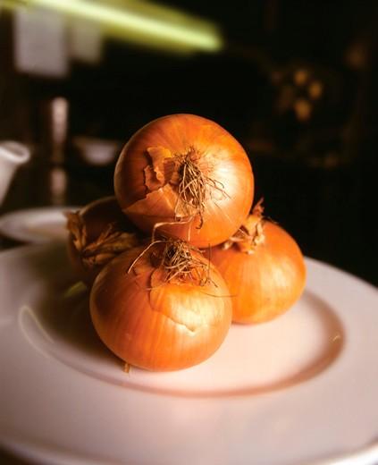 Onion, Italy : Stock Photo