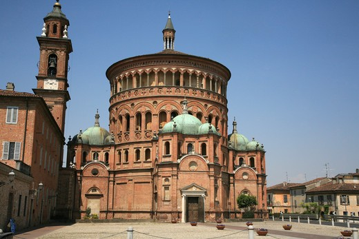 Stock Photo: 4261-79953 Santa Maria della Croce sanctuary, Crema, Lombardy, Italy