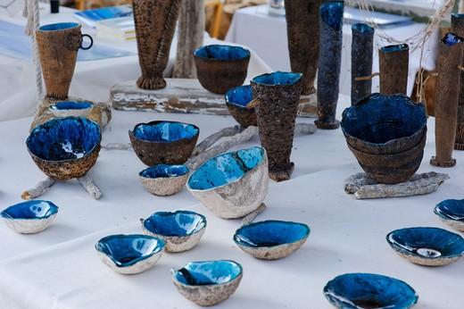 Hippy Market, Mola, Formentera, Balearic Islands, Spain, Europe : Stock Photo