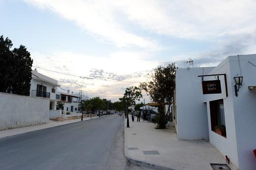 Mola, Formentera, Balearic Islands, Spain, Europe : Stock Photo