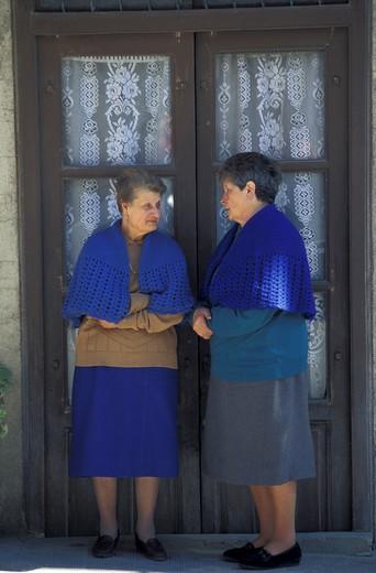 People, Ciminna, Sicily, Italy : Stock Photo
