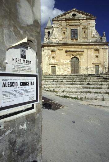 Stock Photo: 4261-80970 Santa Maria La Nova church, Scicli, Sicily, Italy