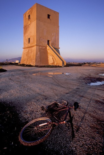 Saltworks, Nubia, Sicily, Italy  : Stock Photo