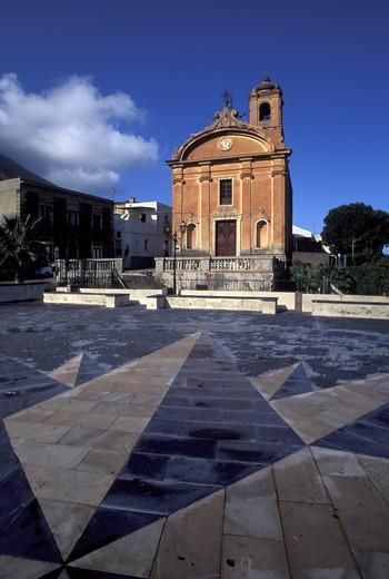 Immacolata Malfa, Salina island, Trapani, Sicily, Italy : Stock Photo