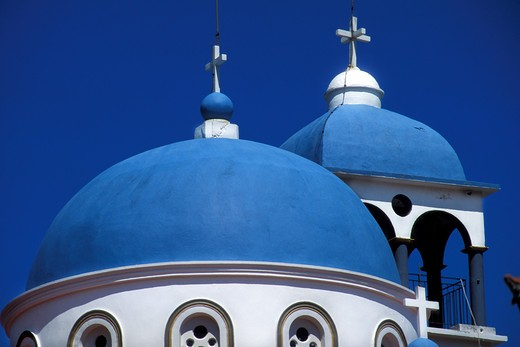 Church, Stavros, Itaca island, Greece, Europe : Stock Photo