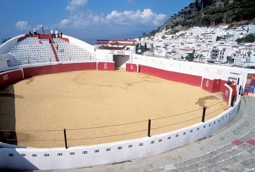 Stock Photo: 4261-81983 Mijas bullring,  Autonomous Community of Andalusia, Spain