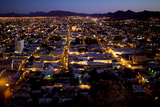 Landscape, Hermosillo, Sonora State, Mexico, Central America : Stock Photo