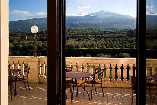 Cellar, Feudo Vagliasindi Hotel, Contrada Feudo S. Anastasia Randazzo, Sicily, Italy : Stock Photo