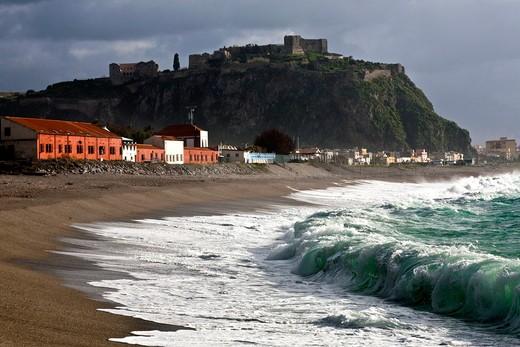 Stock Photo: 4261-86514 Seaside, milazzo, Sicily, Italy, Europe