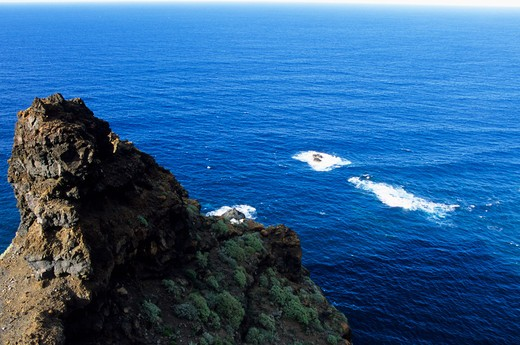 Stock Photo: 4261-87260 North-West coast seen from Mirador del Fraile, Tenerife island, Canary Islands, Spain, Europe