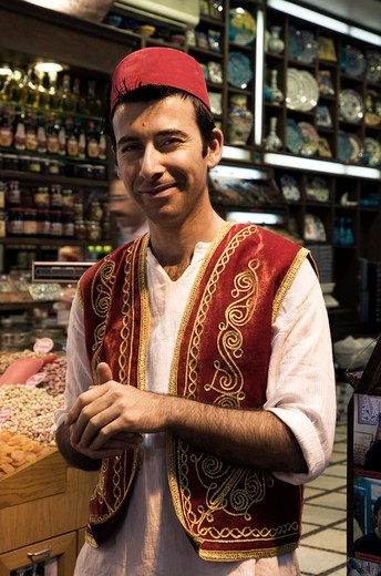 Spice Bazaar, Istanbul, Turkey, Europe