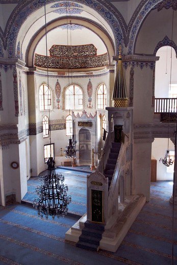 Stock Photo: 4261-87781 Interior of the Little Haghia Sofia Mosque, Istanbul, Turkey, Europe