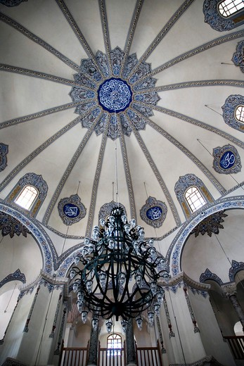 Stock Photo: 4261-87784 Interior of the Little Haghia Sofia Mosque, Istanbul, Turkey, Europe